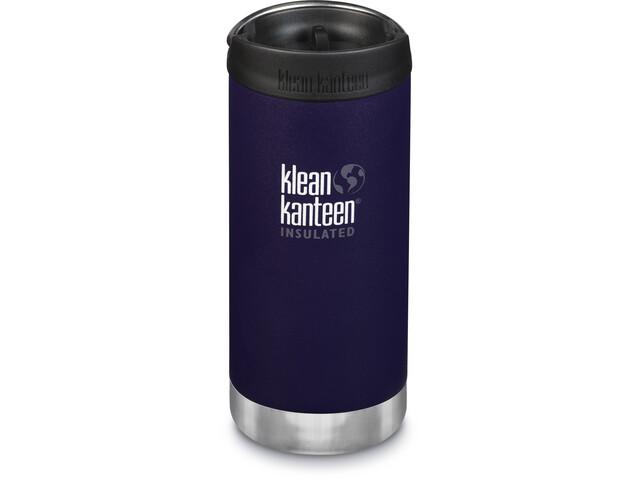 Klean Kanteen TKWide Drinkfles met Café Cap 355ml vacuüm geïsoleerd, violet
